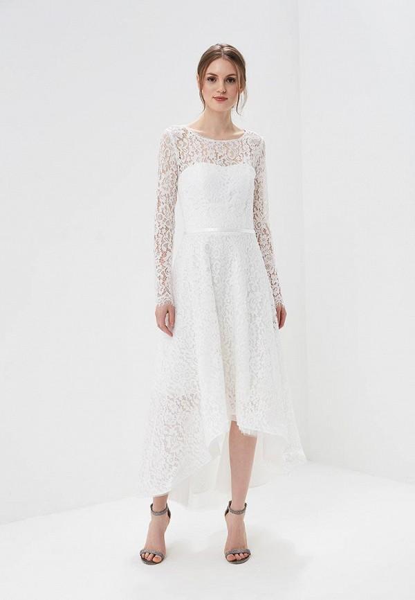 женское вечерние платье lakshmi fashion, белое