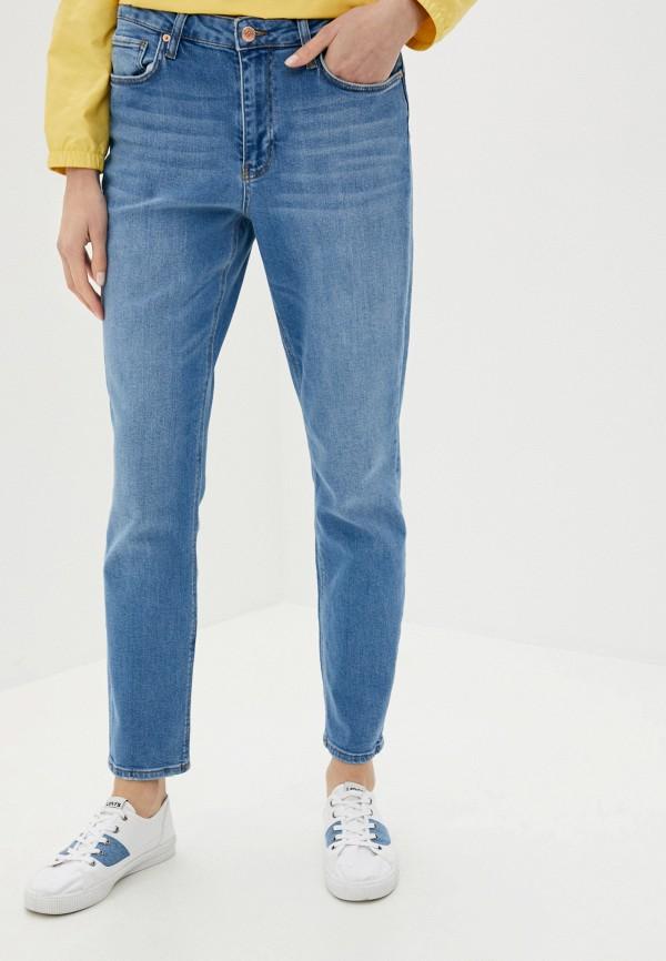 женские джинсы-мом colin's, голубые