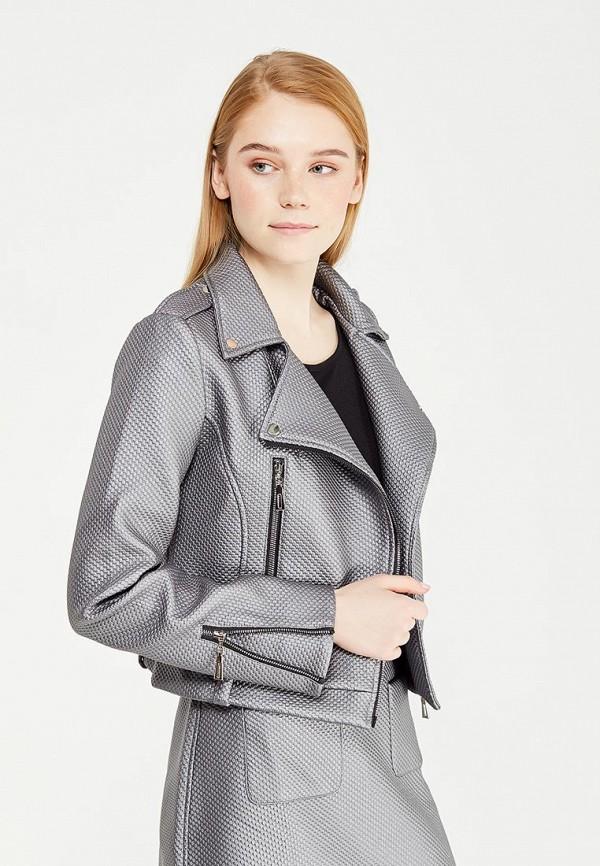 Купить Куртка кожаная Demurya Collection, mp002xw0wkq1, серебряный, Осень-зима 2017/2018