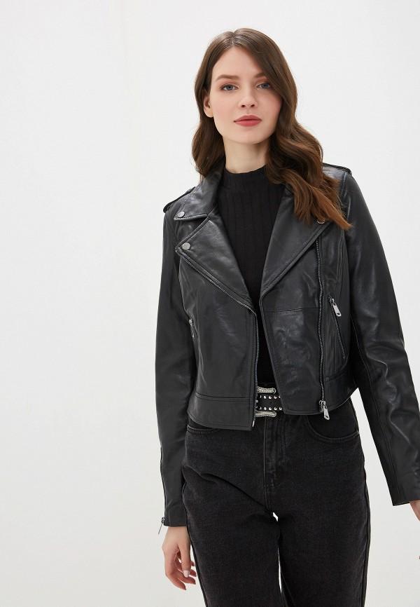 Куртка кожаная La Reine Blanche La Reine Blanche MP002XW0WNIG все цены