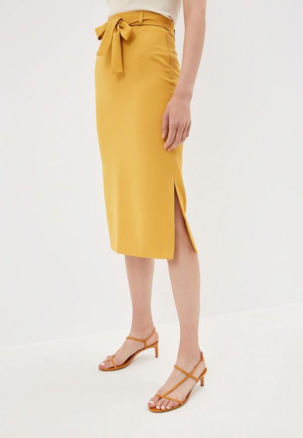 Юбка la Biali цвет желтый