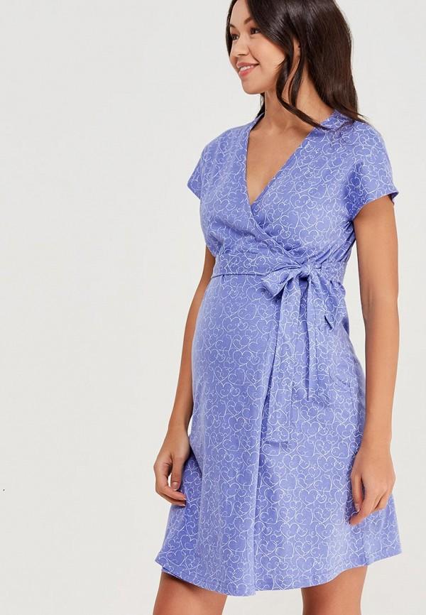 женский халат hunny mammy, фиолетовый