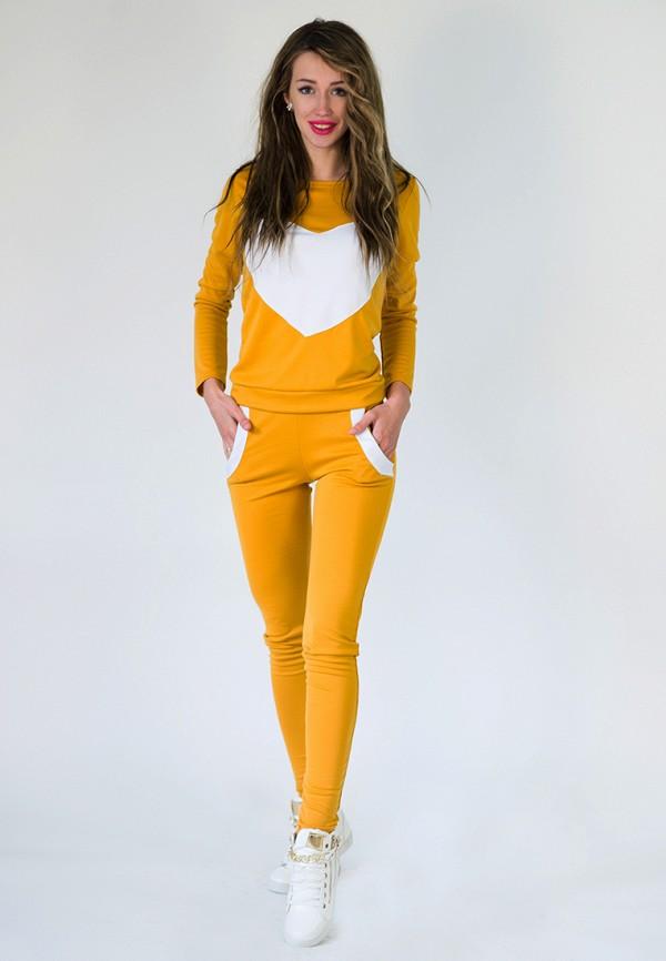 женский спортивные спортивный костюм подіум, желтый