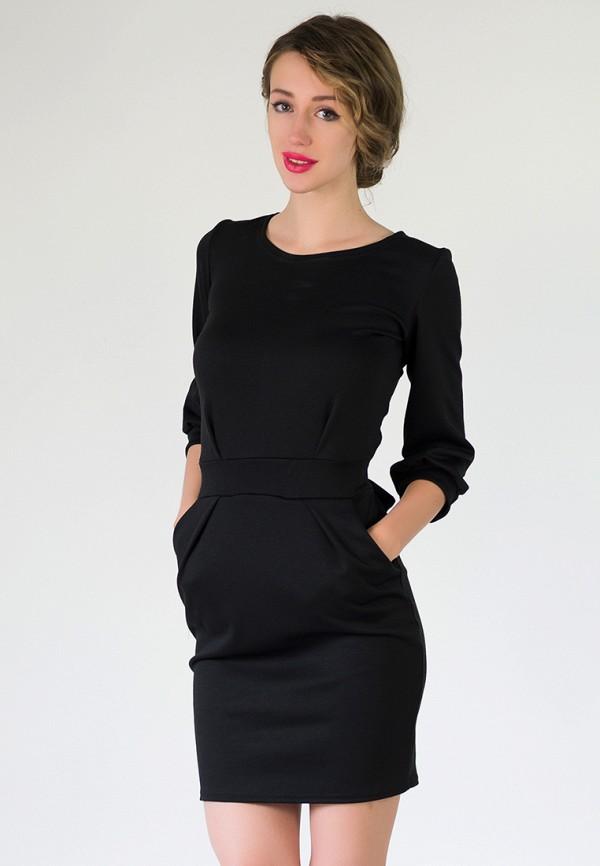 женское повседневные платье подіум, черное