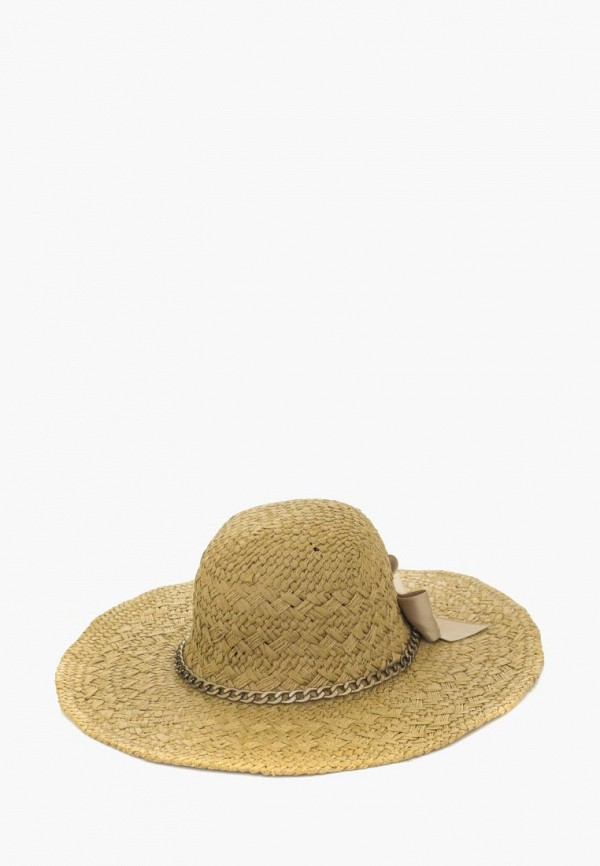 женская шляпа anna bask, бежевая