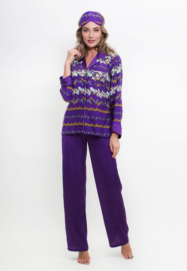 женский костюм penye mood, фиолетовый