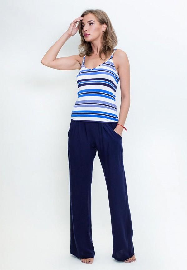 женский костюм penye mood, синий