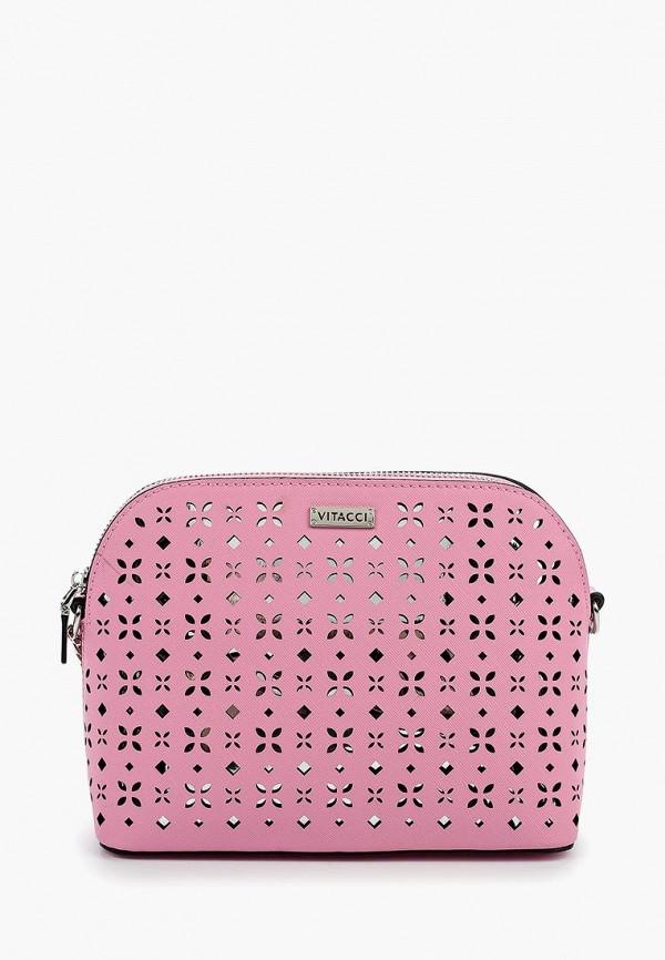 Купить Сумка Vitacci, MP002XW0WQED, розовый, Весна-лето 2018