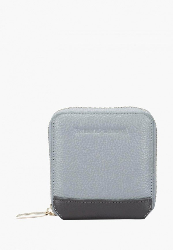 женский кошелёк smith&canova, серый