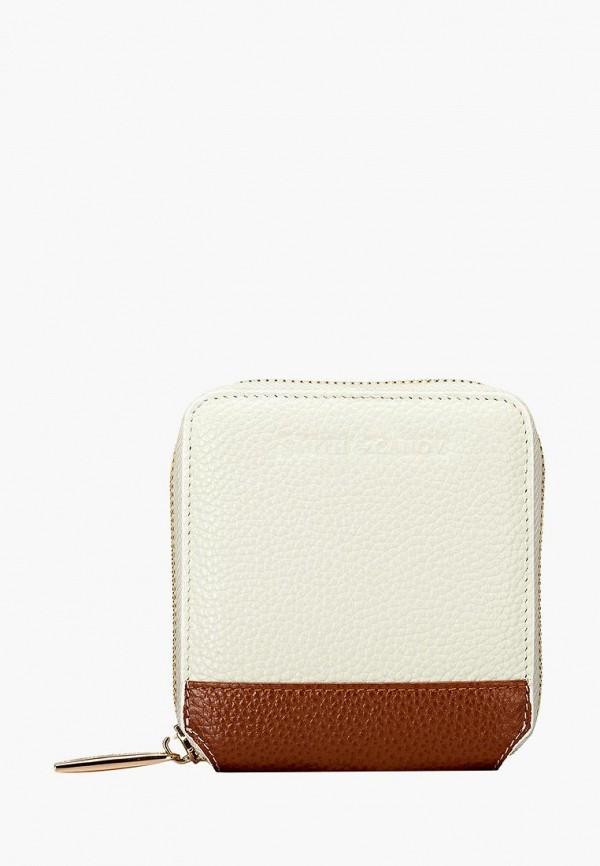 женский кошелёк smith&canova, белый