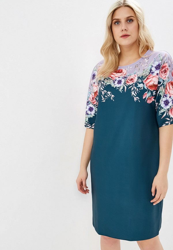 женское повседневные платье wisell, зеленое