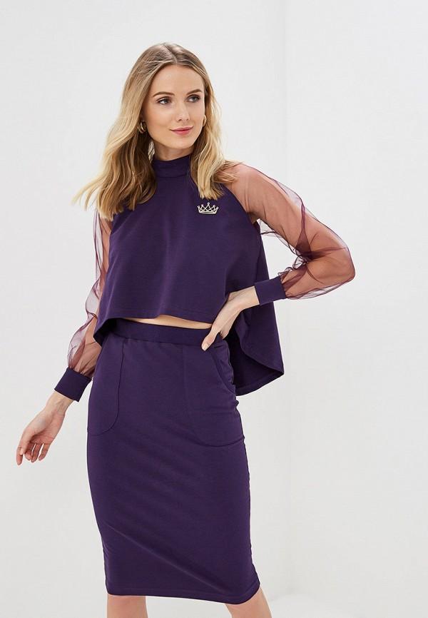 женский костюм barmariska, фиолетовый