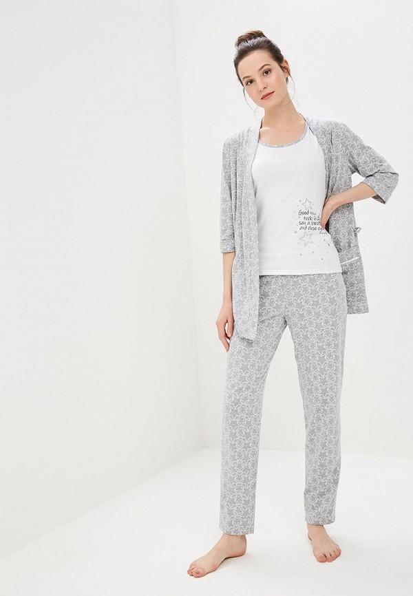 женский костюм lika dress, серый