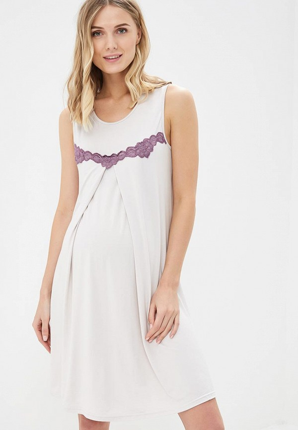 Фото - Сорочку ночная Lika Dress фиолетового цвета