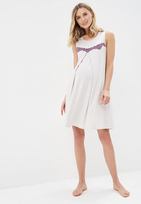 Фото 2 - Сорочку ночная Lika Dress фиолетового цвета