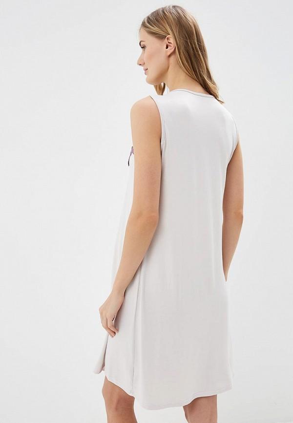 Фото 3 - Сорочку ночная Lika Dress фиолетового цвета