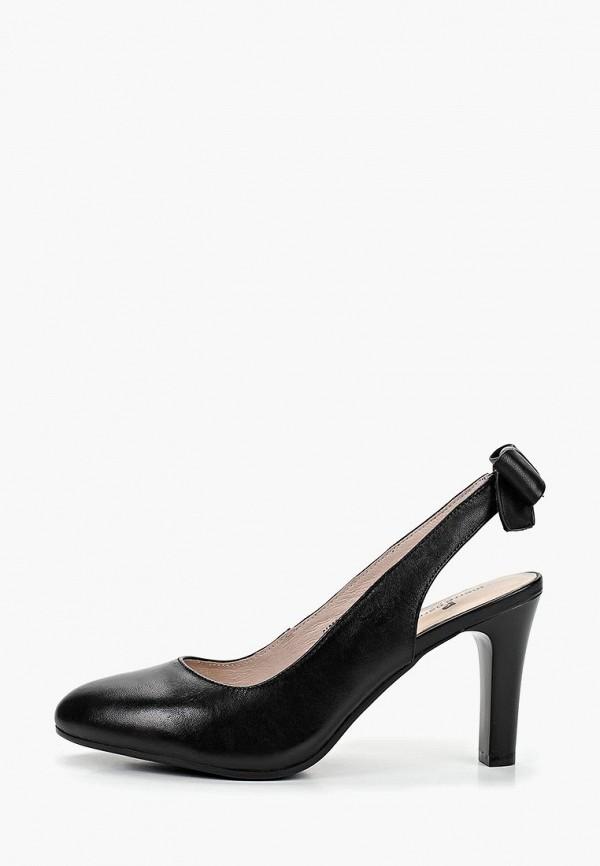 женские босоножки pierre cardin, черные