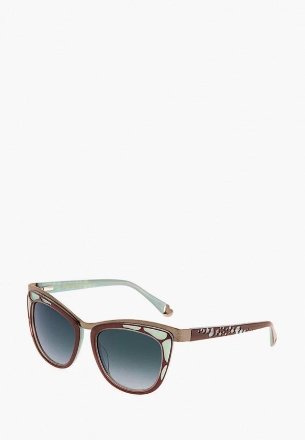 женские солнцезащитные очки enni marco, разноцветные