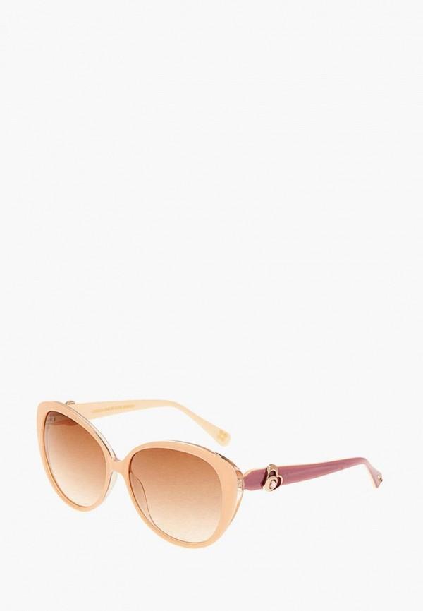 женские солнцезащитные очки enni marco, бежевые