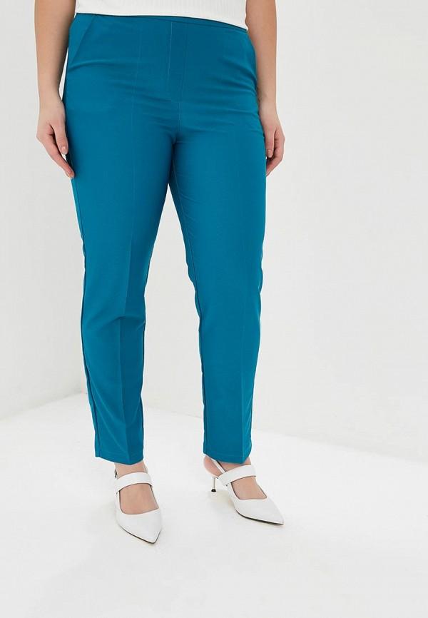 женские повседневные брюки blagof, бирюзовые