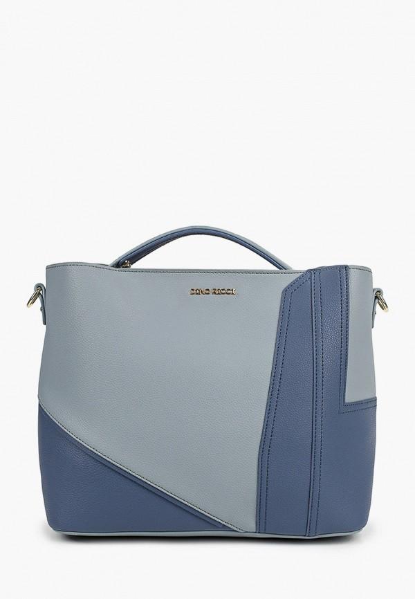 женская сумка dino ricci, голубая