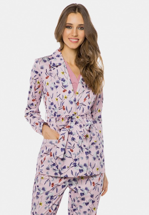 женский пиджак mr520, розовый
