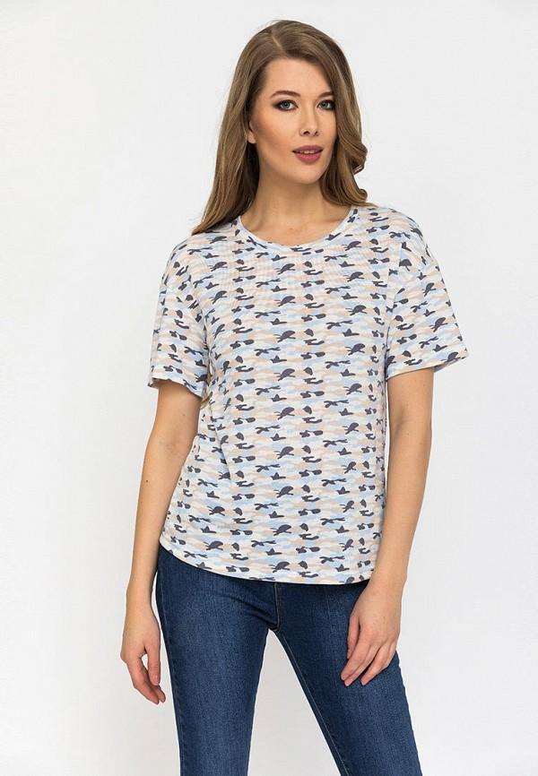 женская футболка gloss, разноцветная