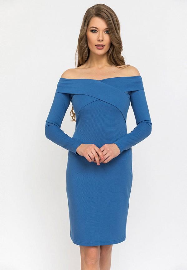 Купить Платье Gloss, mp002xw0wrsl, синий, Весна-лето 2019