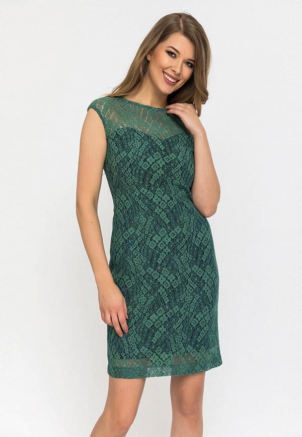 женское вечерние платье gloss, зеленое