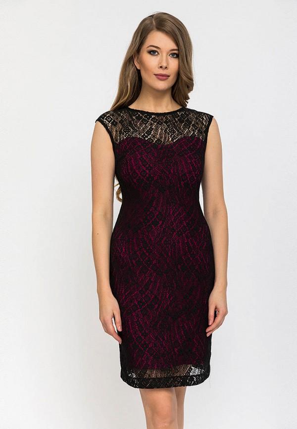 женское вечерние платье gloss, бордовое