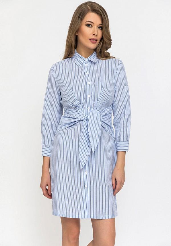 женское платье gloss, голубое