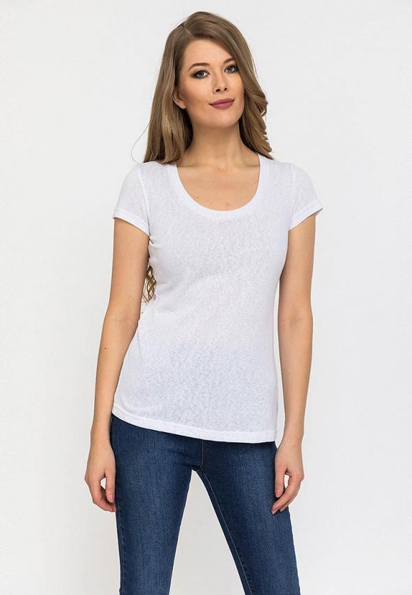 женская футболка gloss, белая
