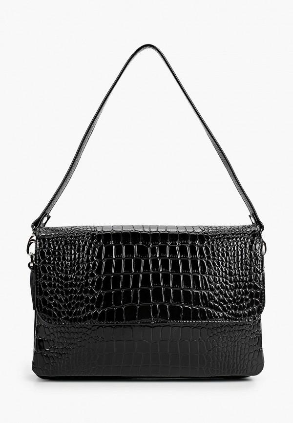 женская сумка через плечо afina, черная