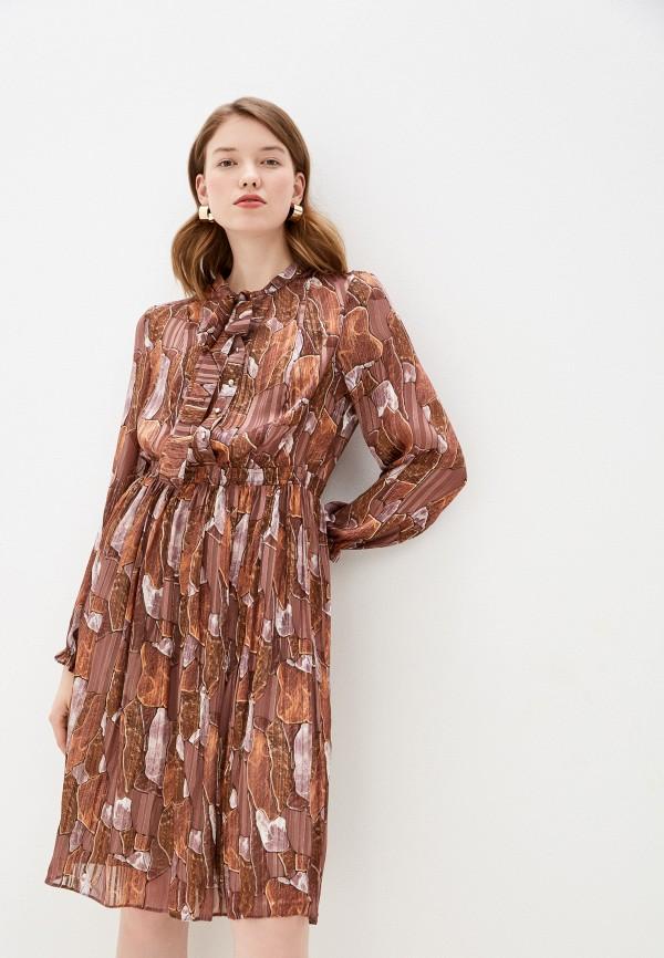Платье ASV Fashion Design ASV Fashion Design  коричневый фото