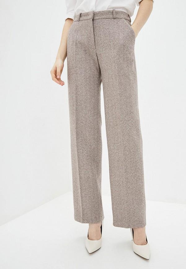 женские повседневные брюки natalia bas, коричневые