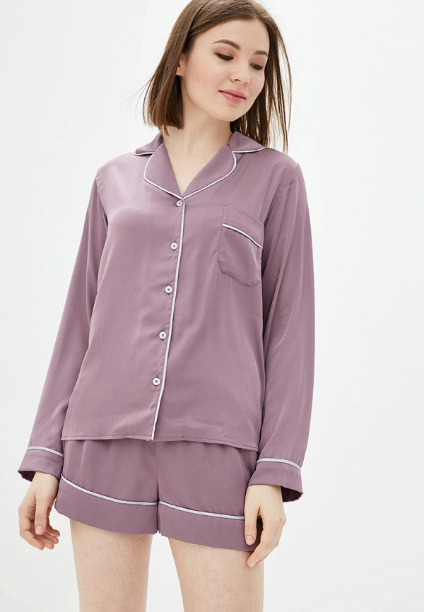 женская пижама natalia bas, фиолетовая