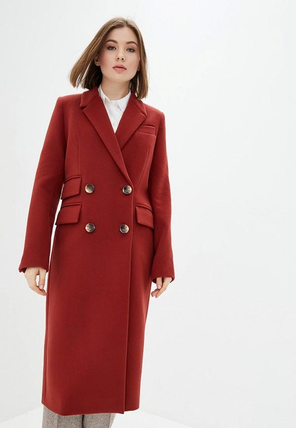 женское пальто natalia bas, красное