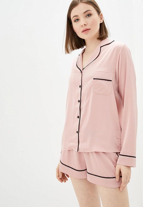 женская пижама natalia bas, розовая