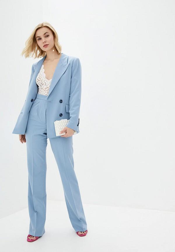 женский костюм natalia bas, голубой