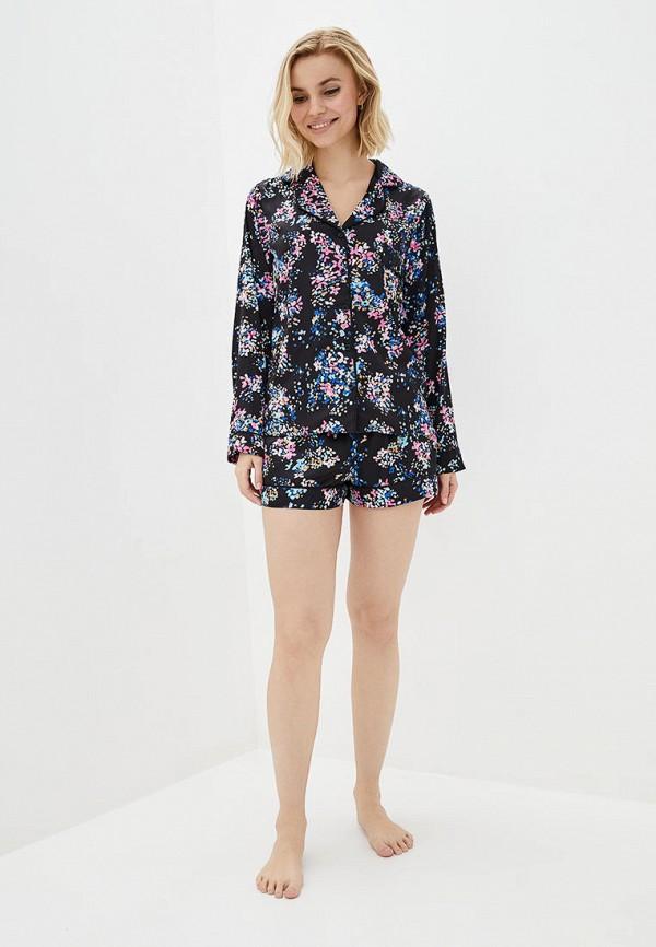 женская пижама natalia bas, черная