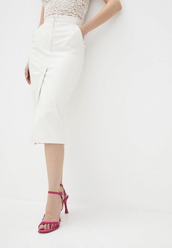 женская юбка natalia bas, белая