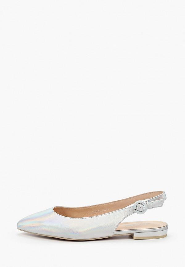 женские туфли thomas munz, серебряные