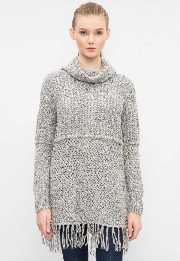 женский свитер pepe jeans london, серый