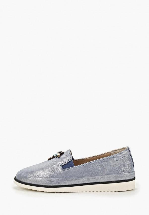 женские туфли alessio nesca, голубые