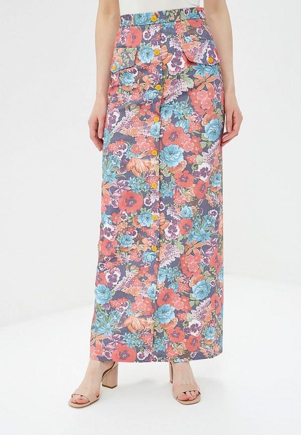 женская прямые юбка sahera rahmani, разноцветная