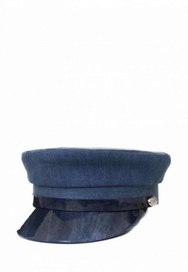 женская кепка anna bask, синяя