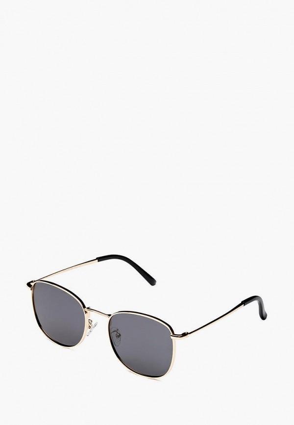 женские солнцезащитные очки fashionlab, золотые