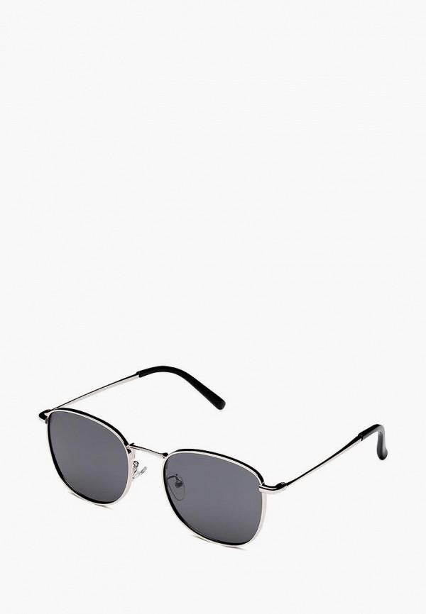 женские солнцезащитные очки fashionlab, серебряные