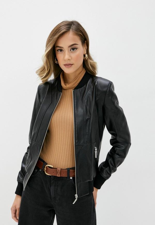 Куртка кожаная Diffoxa