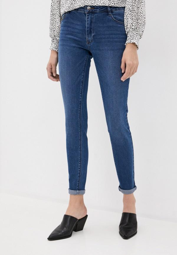 женские джинсы скинни incity, синие